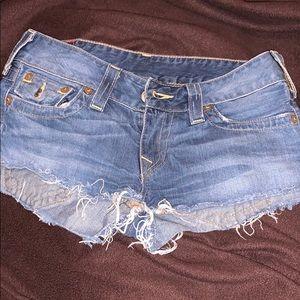 Authentic True Religion Shorts
